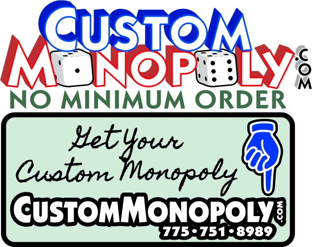 Custom Monopoly No Minimum Order